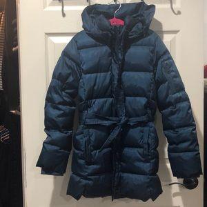 GapKids puffer belted parka coat